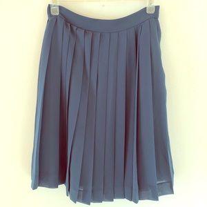 Dresses & Skirts - Blue pleated skirt